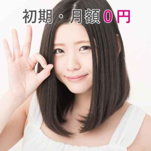 月額料金0円